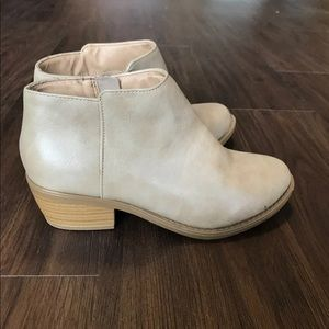 Soda ankle booties